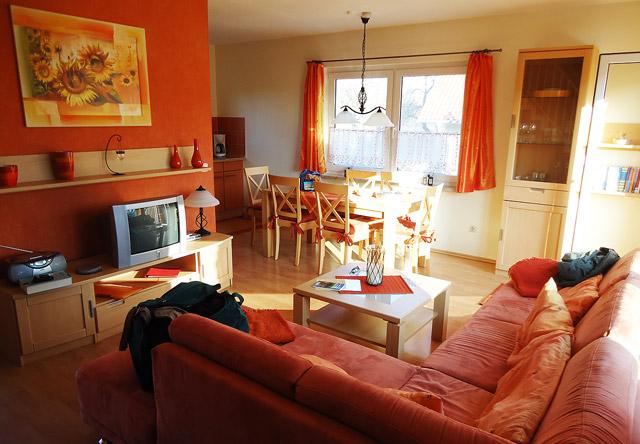 """Ferienhaus """"Sonnenblume"""" - sehr gemütlich und sauber, ideal für Familienurlaub"""