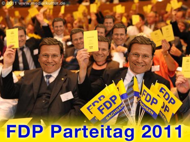 FDP-Parteitag 2011 - wer wird der nächste Westerwelle?