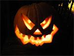 Halloween Kürbisgesicht