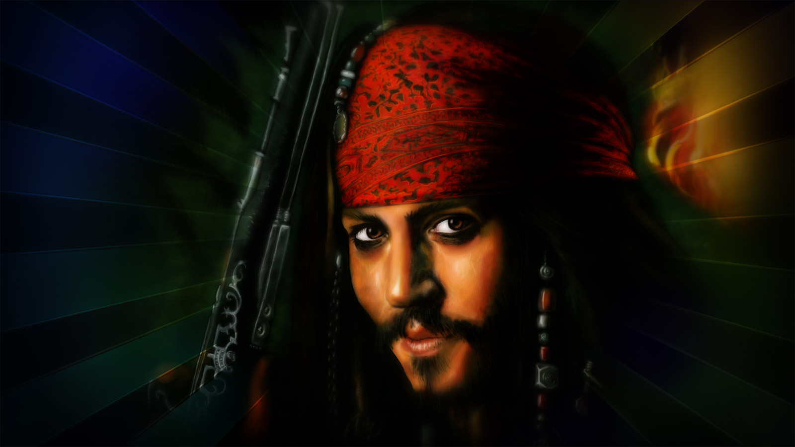 Jack Sparrow Wallpaper (free download PC-Desktop)