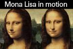 Mona Lisa in Motion