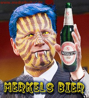 Westerwelle: Merkels Bier (nicht Becks)